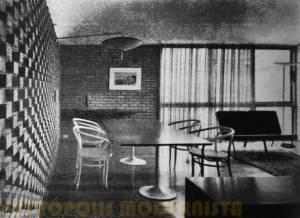 Sala de Jantar e parte da Sala de Estar