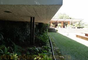 Detalhe das Colunas Metálicas.