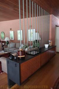 Permanências do projeto original em mobiliário .
