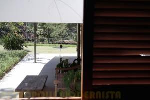 Vista da Varanda tomada de um dos quartos.