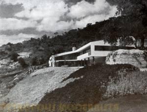 Vista Leste da Edificação.