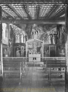Afrescos de Emeric Marcier na Capela.