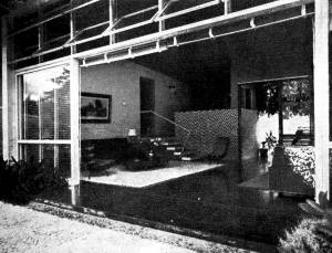 Sala de Estar, vista a partir do exterior