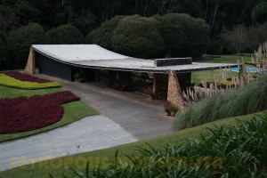 Vista geral da edificação